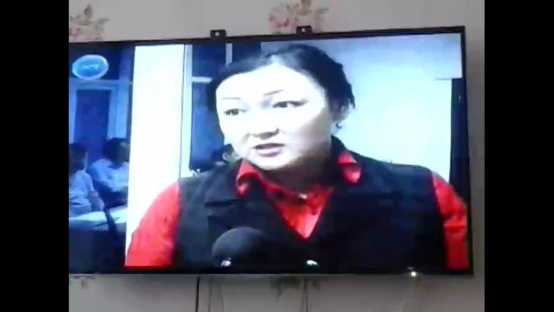Моя Сестра Айнура Онгарова тоже на телевидении но как бы в другой сфере, успехов ей во всем