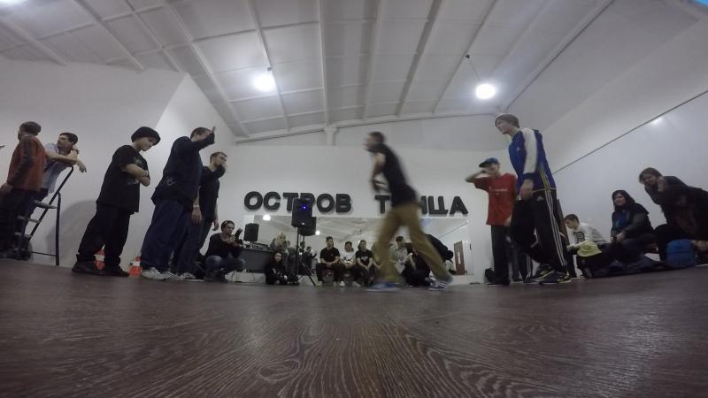 Dance Island Jam -1/4 - Castle/Bad Bot/York vs Mr. R-Tem