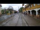 Поездка на трамвае Tatra KT4SU по 3 маршруту. Львов