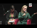 Meryl Streep talks about her career going back to