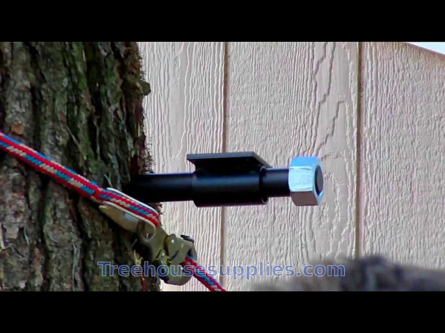How to Install a Treehouse Attachment Bolt (TAB) - Installation Video