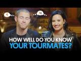 Demi Lovato & Nick Jonas Play How Well Do You Know Your Tourmate? | Billboard