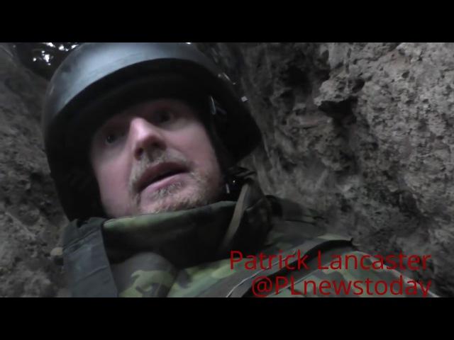 Periodista estadounidense bajo el fuego Ucraniano ✭ Donbass Debaltsevo 28.01.2017 Subtitulado