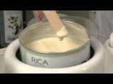 Rica Wax tutorial for under arm waxing