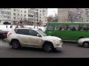 Мини ДТП на перекрёстке Героев Труда и Гв Широнинцев Салтовка