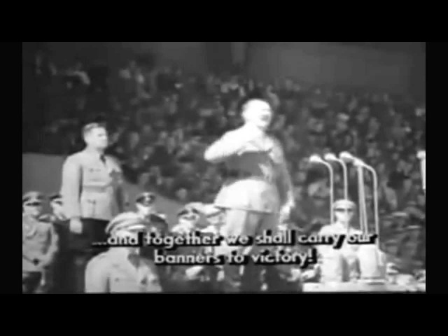 Hitler-Rede (50. Führergeburtstag 20th of April 1939) Engl. Sub