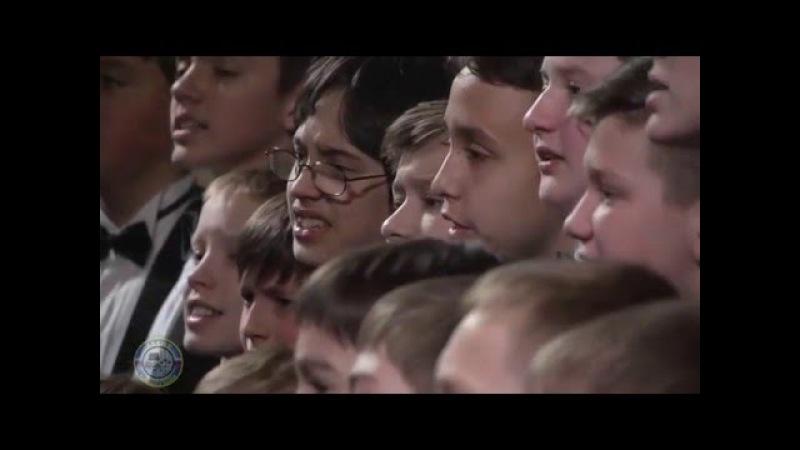 K. Jenkins - Sanctus - A Mass for Peace - Moscow Boys' Choir DEBUT