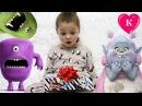 ВРЕДНЫЙ МАЛЫШ ПОДАРОК СЮРПРИЗ ПЛАНШЕТ ДЛЯ ДЕТЕЙ MonsterPad Мультик с куклами