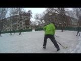 Дворовый хоккей. г Орел Трансмаш 2017-01-22