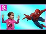 ЧЕЛОВЕК ПАУК против БЕБИ БОН 😱 Кукловек паук атакует BAD BABY. Spider-man Attack Baby Born