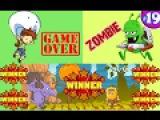 КУКЛЫ ТЕМКА TV  играют в ЗОМБИ Флеш игры онлайн Смотреть бесплатно мультфильмы #19