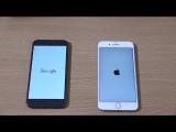 Google Pixel vs iPhone 7 Plus comparison and Speed Test