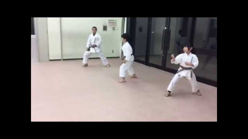 2017-03-05 Practicing for exam 審査に向けて練習中