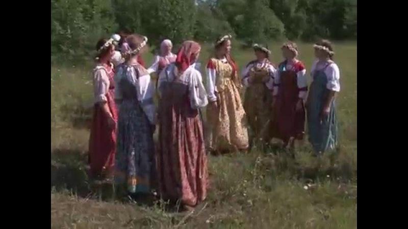 Народные гуляния Русские праздники Троица Часть 1