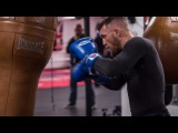 Conor McGregor Working the Bag in Cali