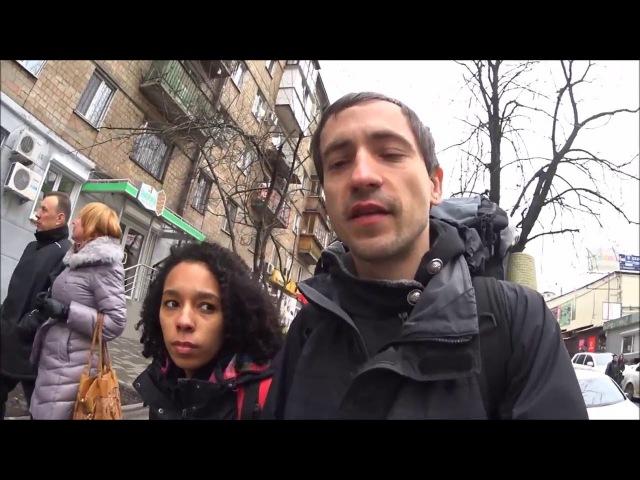 Караваевские дачи, Самый большой Киевский радио рынок, небольшая прогулка - экск...