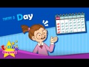 Theme 3. Day - What day is it? It's Monday. | ESL Song Story - Learning English for Kids