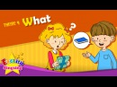 Theme 9. What - What's this? What's that? | ESL Song Story - Learning English for Kids