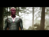 Vision and Ultron - Avengers- Age of Ultron
