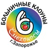 """Больничные клоуны """"Смехоносы"""" г. Запорожье"""
