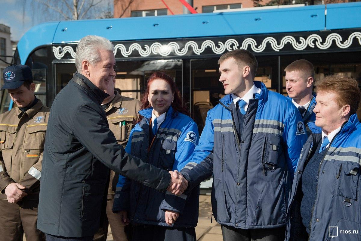 Собянин: На московские маршруты вышли трамваи нового поколения // mos.ru