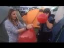 Luftballon Aktion beim Summer Breeze 2016 Wie groß kann der werden