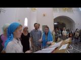 Херувимская песнь_Белое облако в Покровском храме