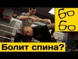 Полезные упражнения при боли в спине  Леон Абрамов о лечении травм и заболевани