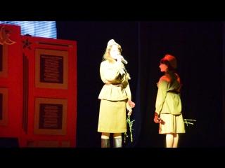 Баллада о зенитчицах  Роберт Рождественский  (Татьяна Коржова )2014 год
