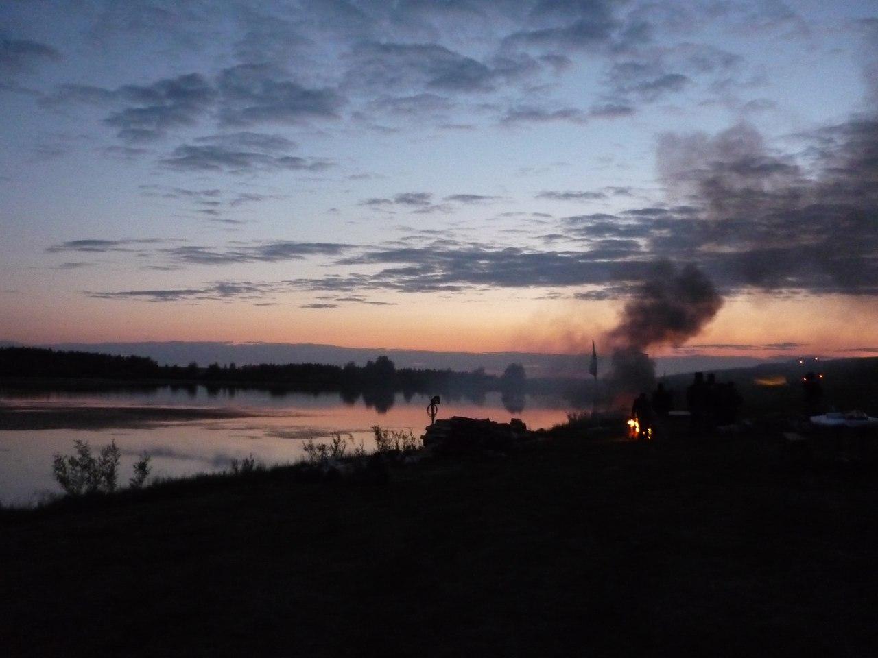Озеро близ рощи Лучинник, Б.Болдино