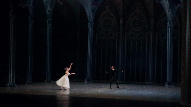 2. Жизель - па-де-де, 2 акт (вторая женская вариация). (Отчётный концерт СХУ - 22.05.16).