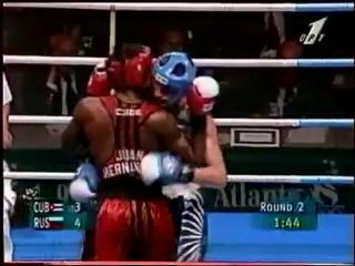 Олег Саитов - Хуан Эрнандес финал ОИ 1996
