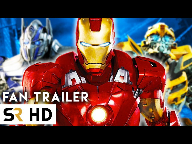 The Avengers VS Transformers New Fan Trailer! Amazing Epic Supercut!