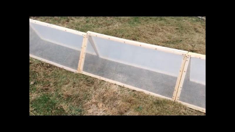 175. Укрытие - домик из армированной пленки или поликарбоната