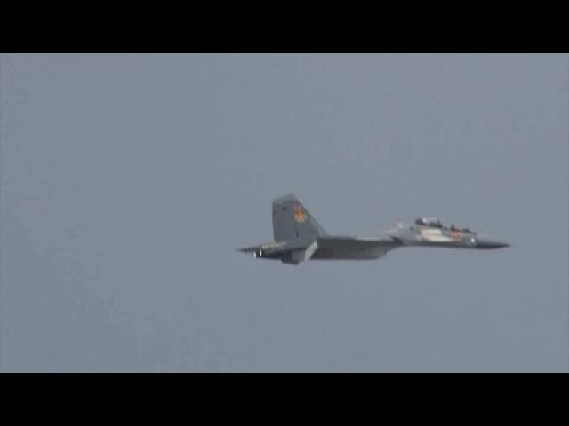KADEX - 2016, пилотаж на Су-30 СМ