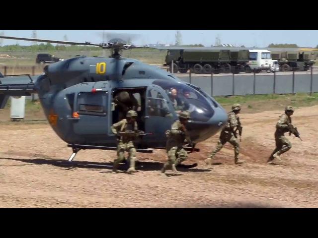 KADEX-2016 (040616) Часть 1 | Показательные выступления техники и вооружения