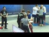 Чемпионат России по армрестлингу 2016 Логвин Рикерт 85 кг правая