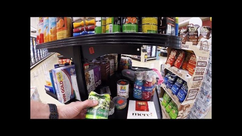 Распродажа Дефективных Товаров в Супермаркете США, Жизнь в Америке 2016