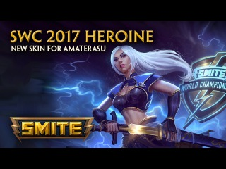 SMITE - New Skin for Amaterasu - SWC 2017 Heroine