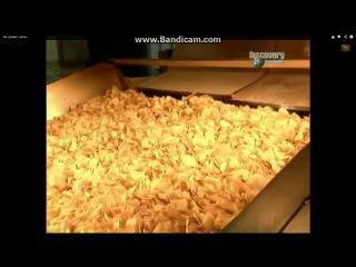 Как делают чипсы