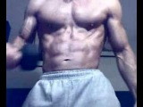 Gutpunch my abs & muscle flexing