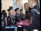 Кадеты морского корпуса Андрея Первозванного дали клятву юнармейца