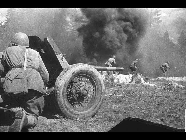 Убойная сила русской артиллерии. Артиллерия Второй мировой. Секретный полигон.