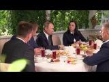 В усадьбе «Ясная поляна» состоялась встреча В.Путина спредставителями общественности Тульской области