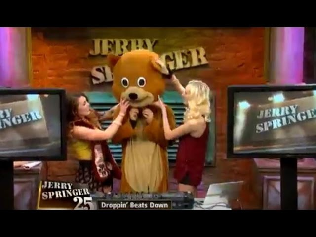 Bear Grillz Reveals His True Identity! (The Jerry Springer Show)