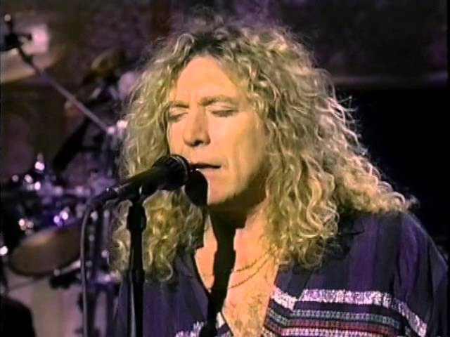 Robert Plant David Letterman 1993 29 Palms