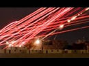 WOW! Urban CLOSE AIR SUPPORT! Superb NIGHT VISION of Venom attack helicopter's TRACER FIRE!