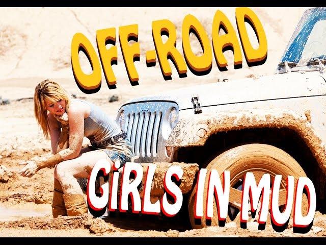 Off road and sexy girls stuck in mud l Внедорожье и сексуальные девушки застряли в грязи MoD mj