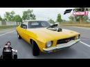 Имба-маслкар Holden HQ Monaro GTS 350 - Forza Horizon 3 на руле Fanatec CSL Elite Wheel