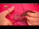 Аппликация для детей Панно из листьев и ватных дисков